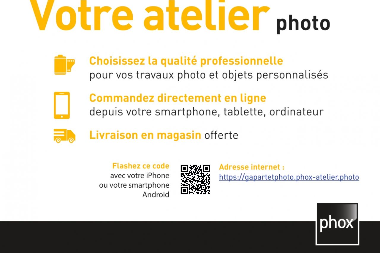 Art et Photo- Phox - Gap : votre atelier photo