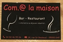 Com.@la maison - Restaurants/Cafés/Bars/Hôtels Gap